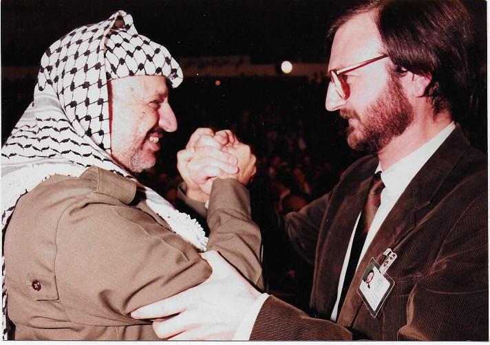 Arafat JF Amman novembre 1984
