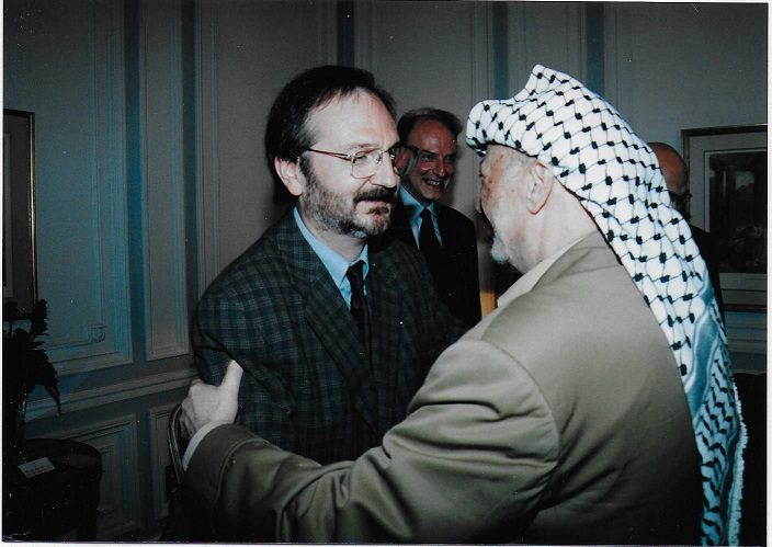 Arafat JF Paris octobre 1993
