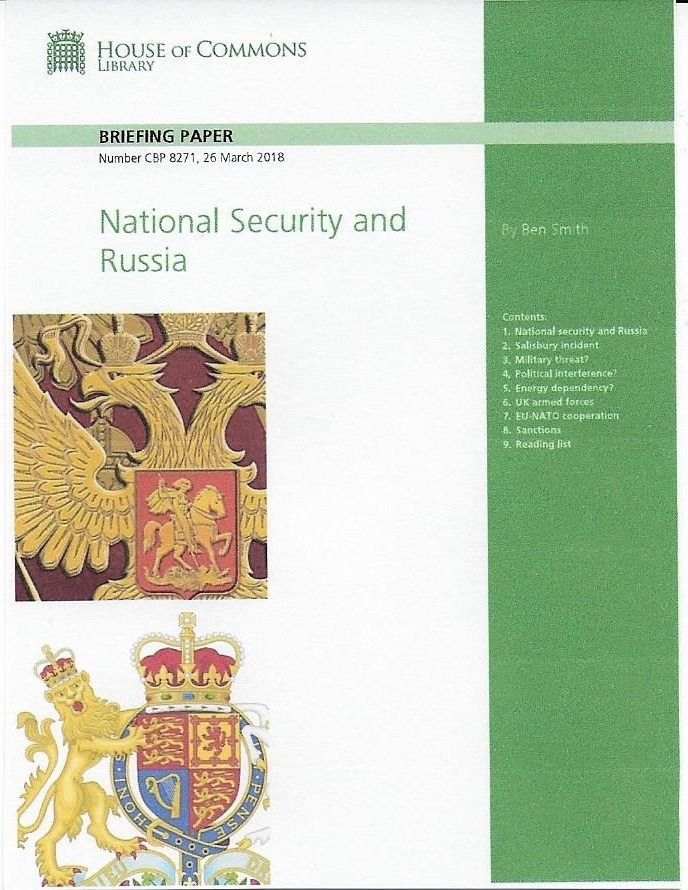 National Security and Russia (3)