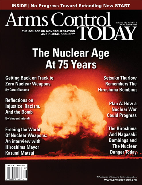 Arms Control Today Vol 50 July-August 2020